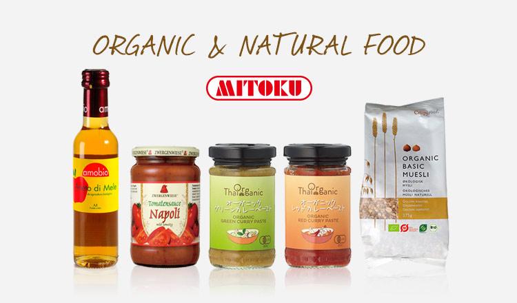 ORGANIC & NATURAL FOOD - MITOKU -