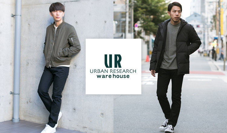 URBAN RESEARCH WAREHOUSE MEN