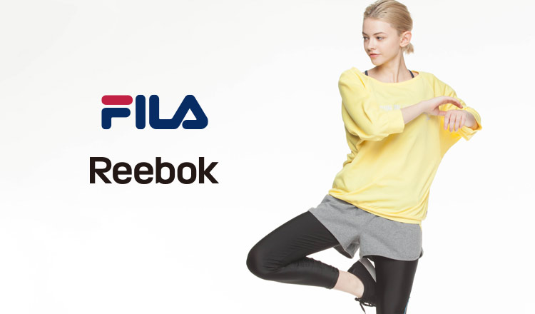 FILA/REEBOK FITNESS WEAR WOMEN