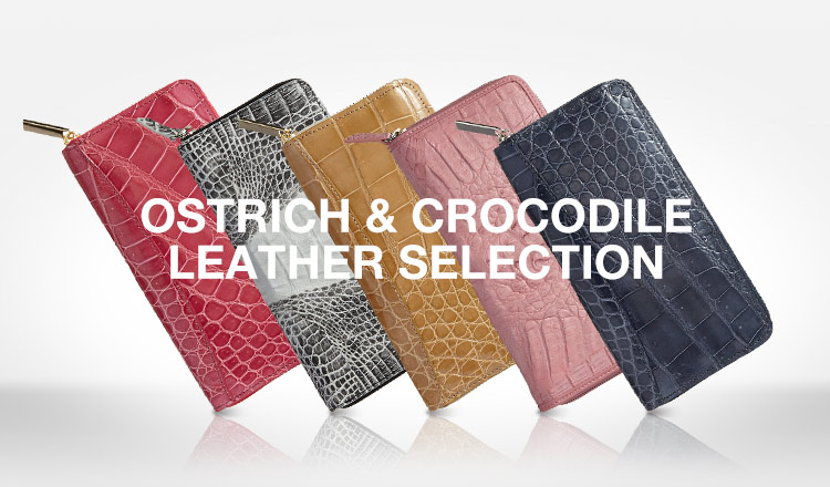 RODANIA OSTRICH & CROCODILE LEATHER SELECTION