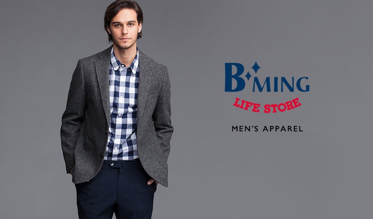 B:MING LIFE STORE BY BEAMS MEN'S APPAREL