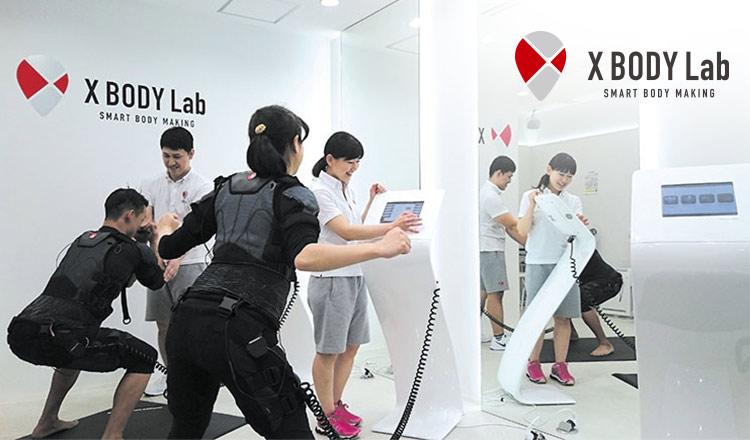 たった20分の最先端EMSトレーニング X BODY Lab