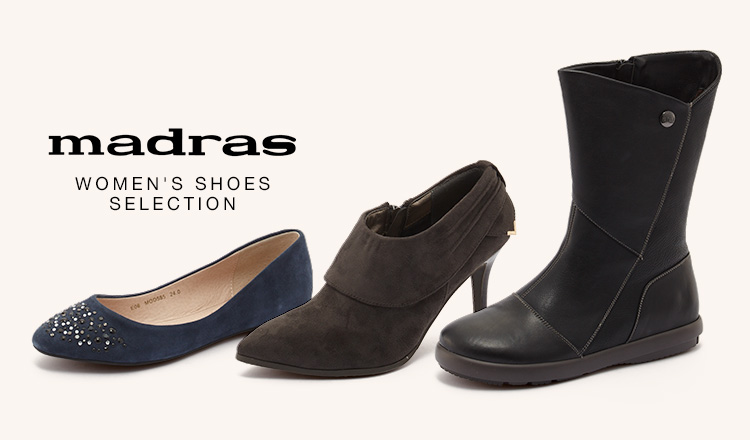 MADRAS WOMEN'S SHOES SELECTION