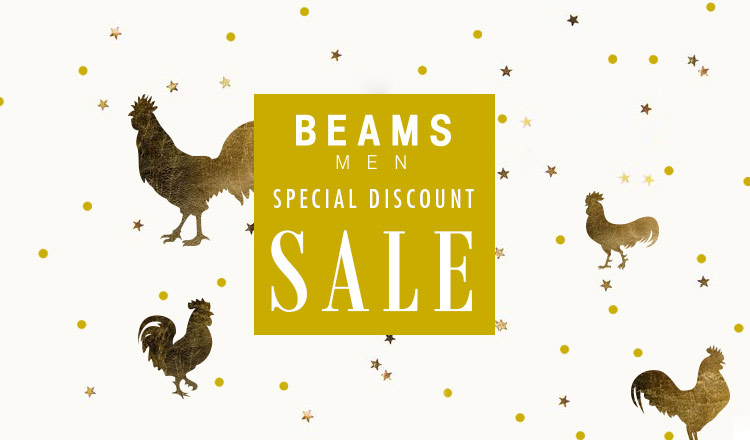 BEAMS SPECIAL DISCOUNT SALE MEN