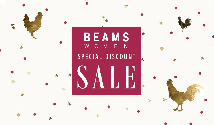 BEAMS SPECIAL DISCOUNT SALE  WOMEN