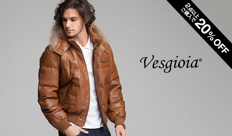 MENS FUR & LEATHER SELECTION BY VESGIOIA