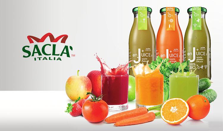 素材本来の味を活かしたオーガニックジュース-SACLA ITALIA-