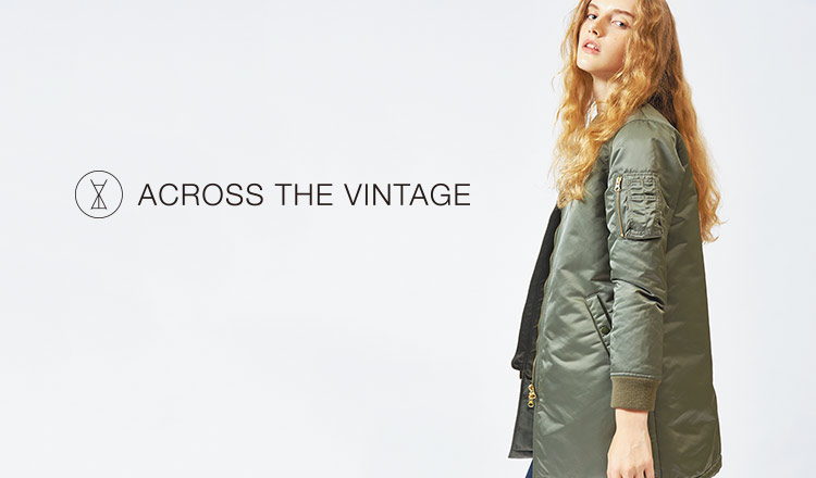 ACROSS THE VINTAGE -WOMEN-