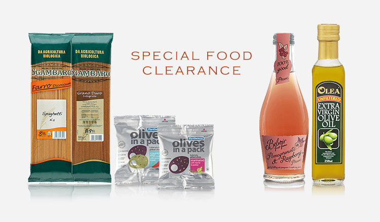 SPECIAL FOOD CLEARANCE
