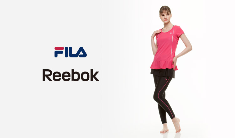 FILA /REEBOK FITNESS SWIM WEAR