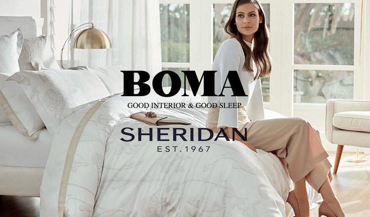 BOMA/SHERIDAN寝具&HOME WEAR