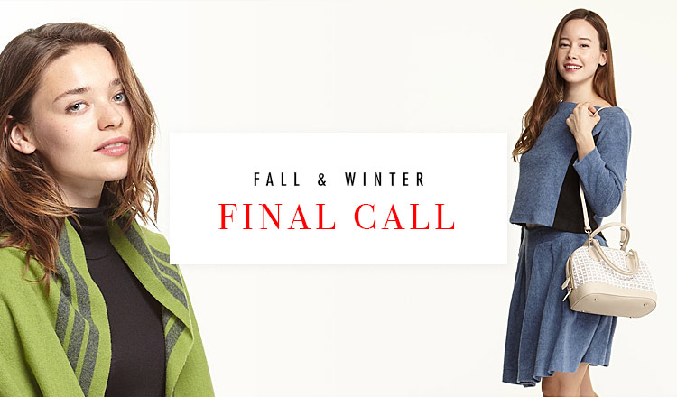 FALL & WINTER FINAL CALL