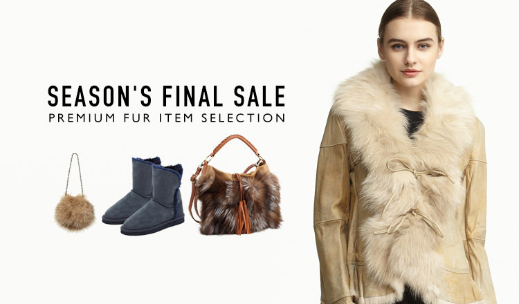 -SEASON'S FINAL SALE- PREMIUM FUR ITEM SELECTION