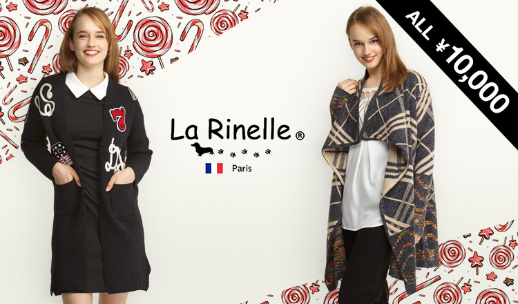 ALL ¥10,000 LA RINELLE -French Apparel Collection -