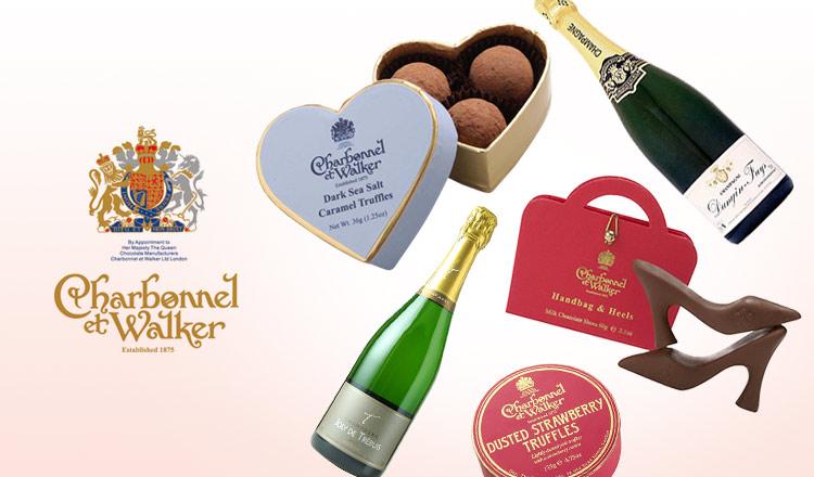 英国王室御用達チョコレート&贅沢シャンパーニュ