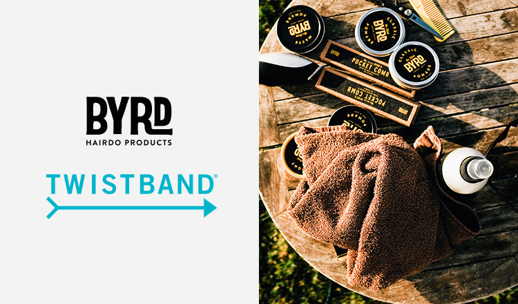 BYRD/TWISTBAND & MORE