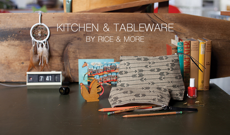KITCHEN & TABLEWARE BY RICE & MORE