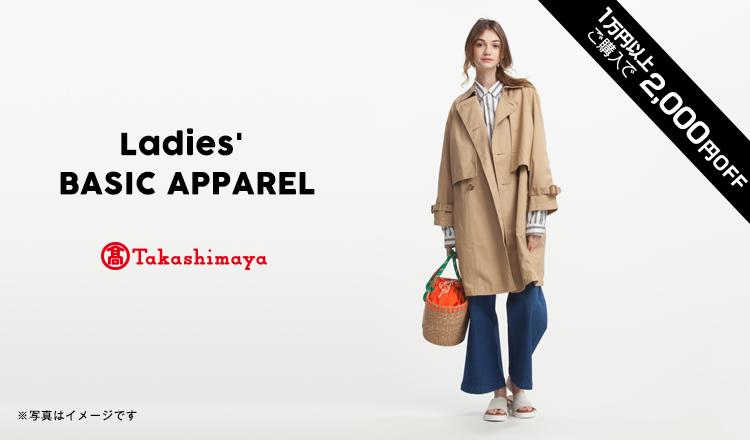 TAKASHIMAYA BASIC APPAREL