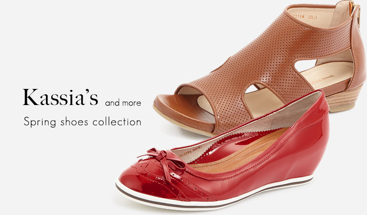 KASSIA'S and more Spring shoes collection