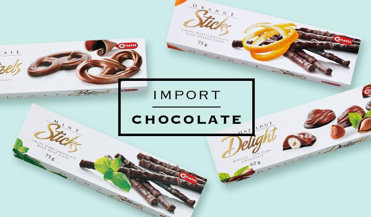 IMPORT CHOCOLATE