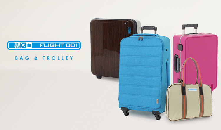 FLIGHT 001 -BAG & TROLLEY-