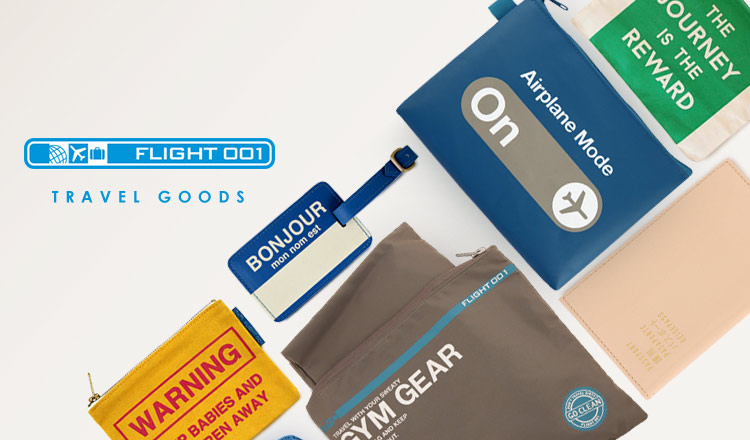 FLIGHT 001 -TRAVEL GOODS-