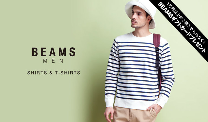 BEAMS MEN'S SHIRTS & T-SHIRTS