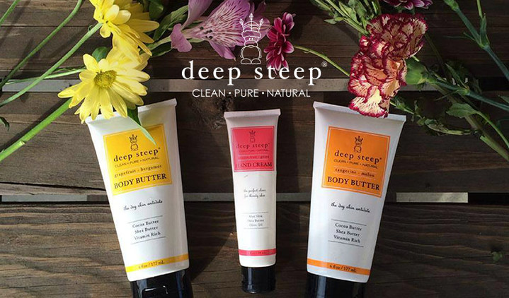 DEEP STEEP - NATURAL & ORGANIC BODY CARE COLLECTION -