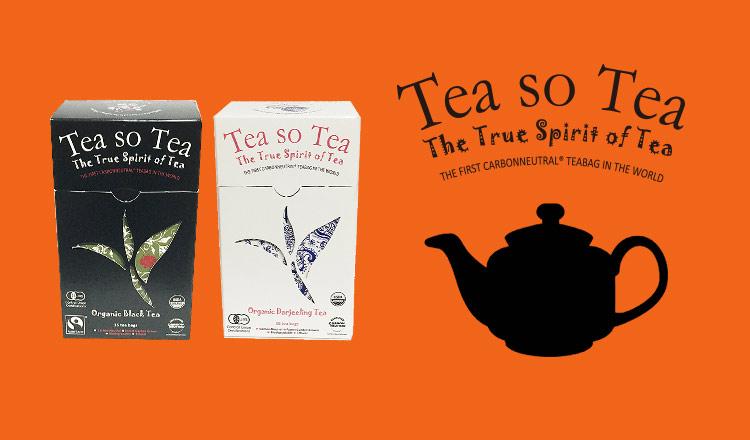 100%オーガニック紅茶 - TEA SO TEA -