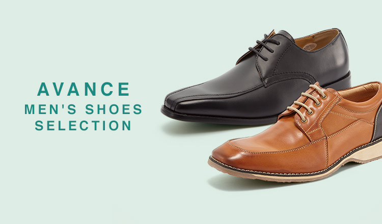 AVANCE-MEN'S SHOES SELECTION-