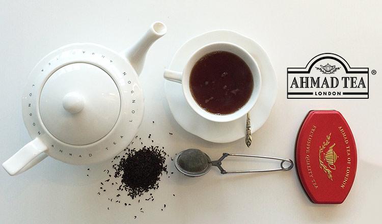 世界中で愛される英国生まれの紅茶 -AHMAD TEA-