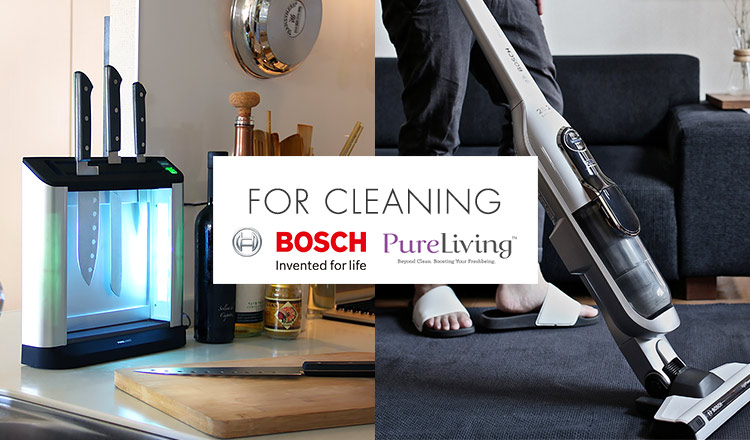 PURE LIVING/BOSCH -FOR CLEANING-