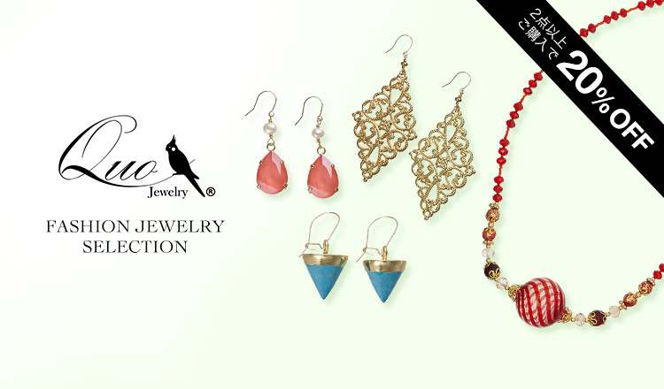 FASHION JEWELRY SELECTION - By QUO JEWELRY