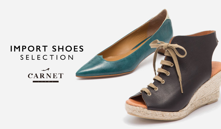 IMPORT SHOES SELECTION BY CARNET