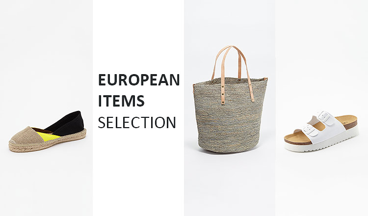 EUROPEAN ITEMS SELECTION BY IMPEX JAPAN