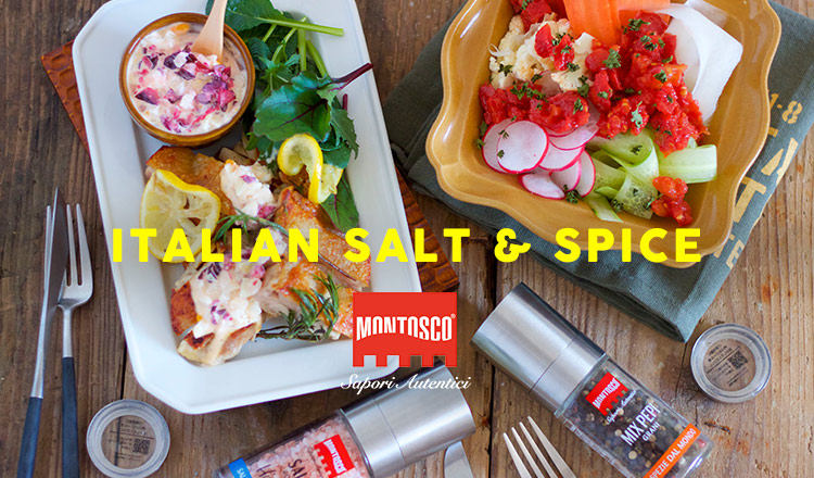 ITALIAN SALT & SPICE -MONTOSCO-