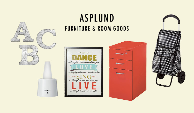 ASPLUND FURNITURE & ROOM GOODS