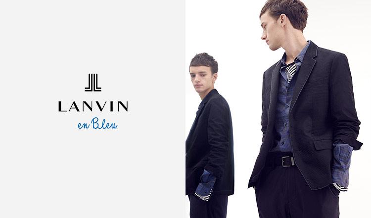 LANVIN EN BLEU -MEN-