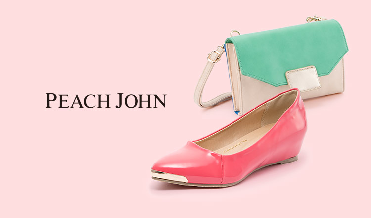 PEACH JOHN BAG & SHOES