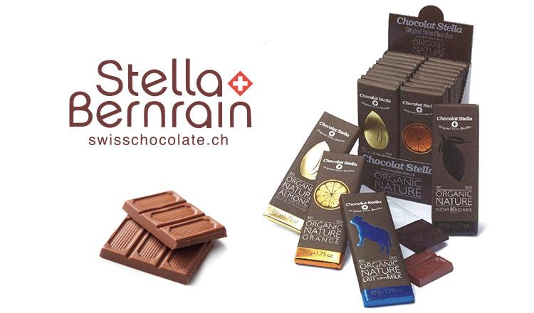 ORGANIC SWISS CHOCOLATE -STELLA-