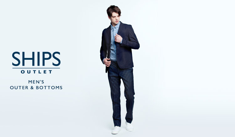 SHIPS OUTLET MEN'S OUTER & BOTTOMS
