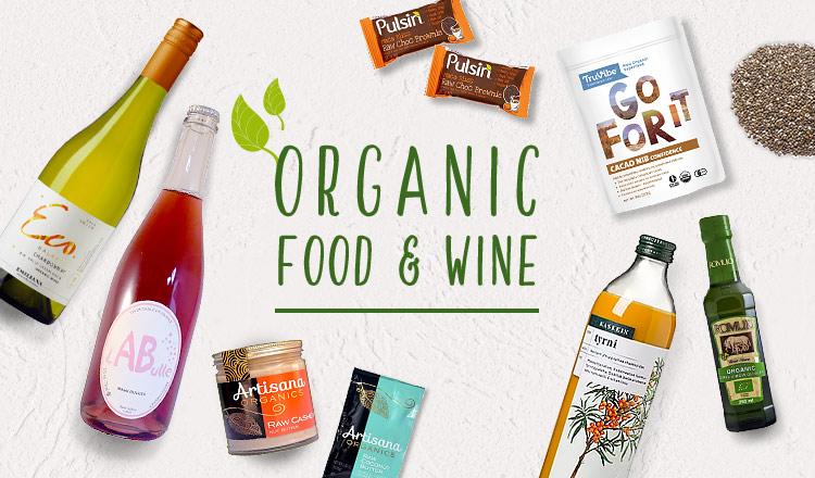 ORGANIC -FOOD & WINE-