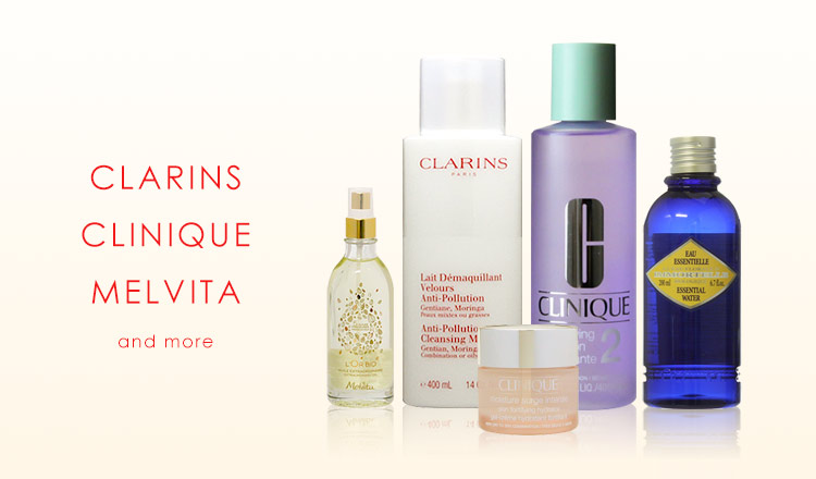 CLARINS/CLINIQUE/MELVITA and more