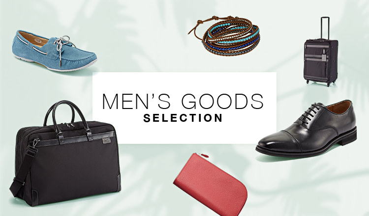 MEN'S GOODS SELECTION