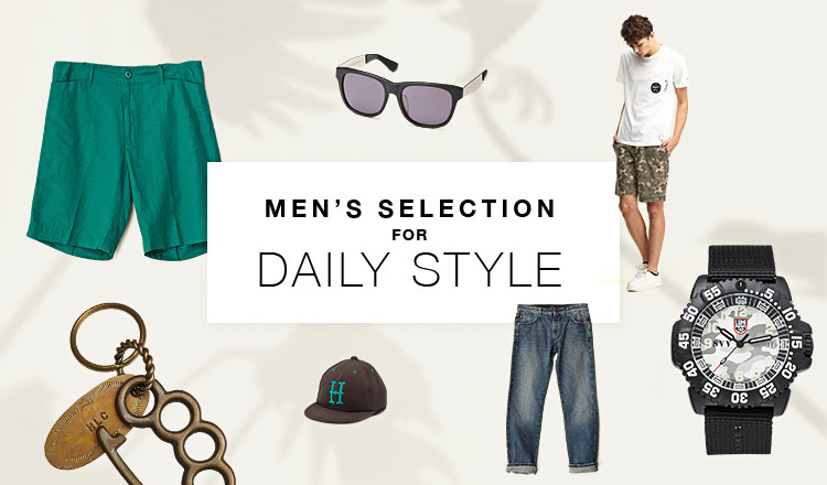 MEN'S SELECTION-FOR DAILY STYLE-