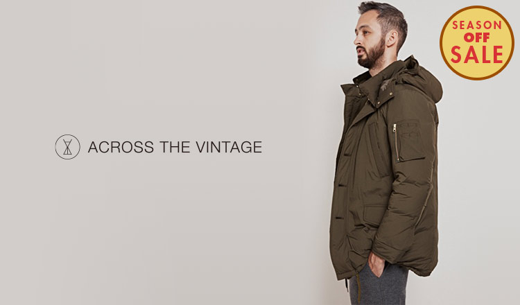 ACROSS THE VINTAGE -MEN- _SEASON OFF SALE
