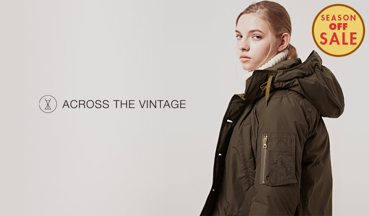 ACROSS THE VINTAGE -WOMEN- _SEASON OFF SALE