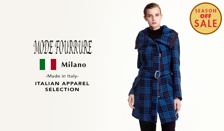 MODE FOURRURE ITALIAN APPAREL SELECTION_SEASON OFF SALE