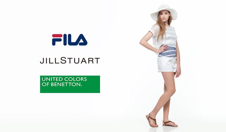 FILA/JILL STUART/BENETTON FITNESS SWIMWEAR