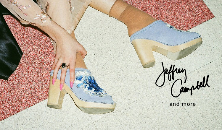 JEFFREY CAMPBELL and more
